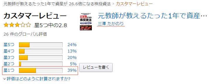 三澤たかのりの書籍の評判